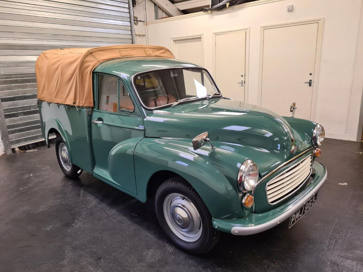 1970 Morris Minor Pickup - Totally restored