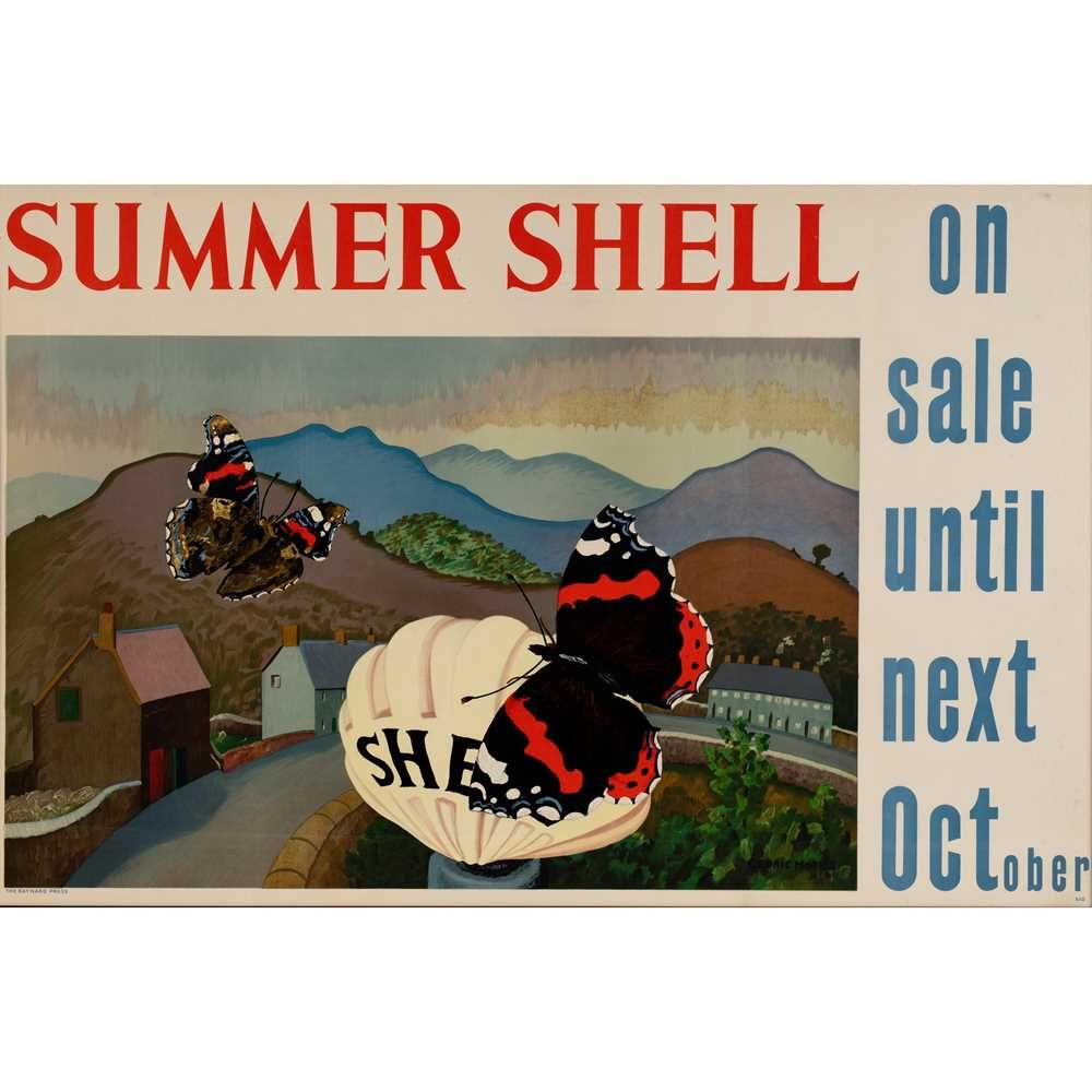 Shell poster sale