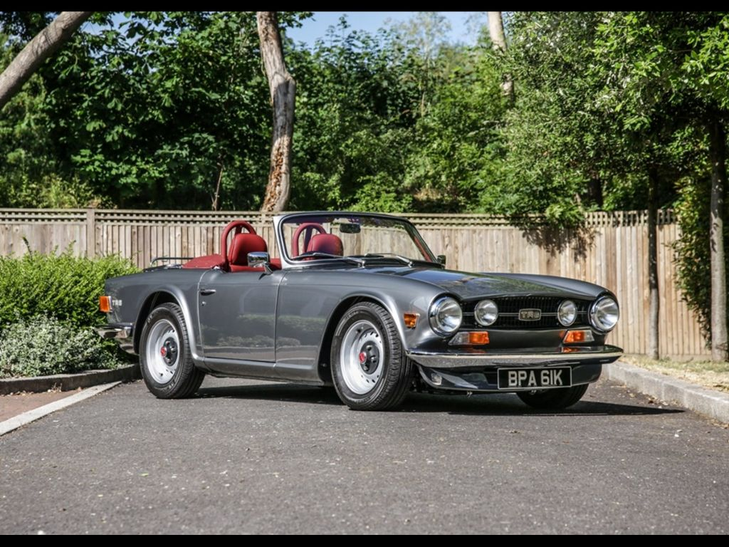New auction record for a Triumph TR6 at Historics