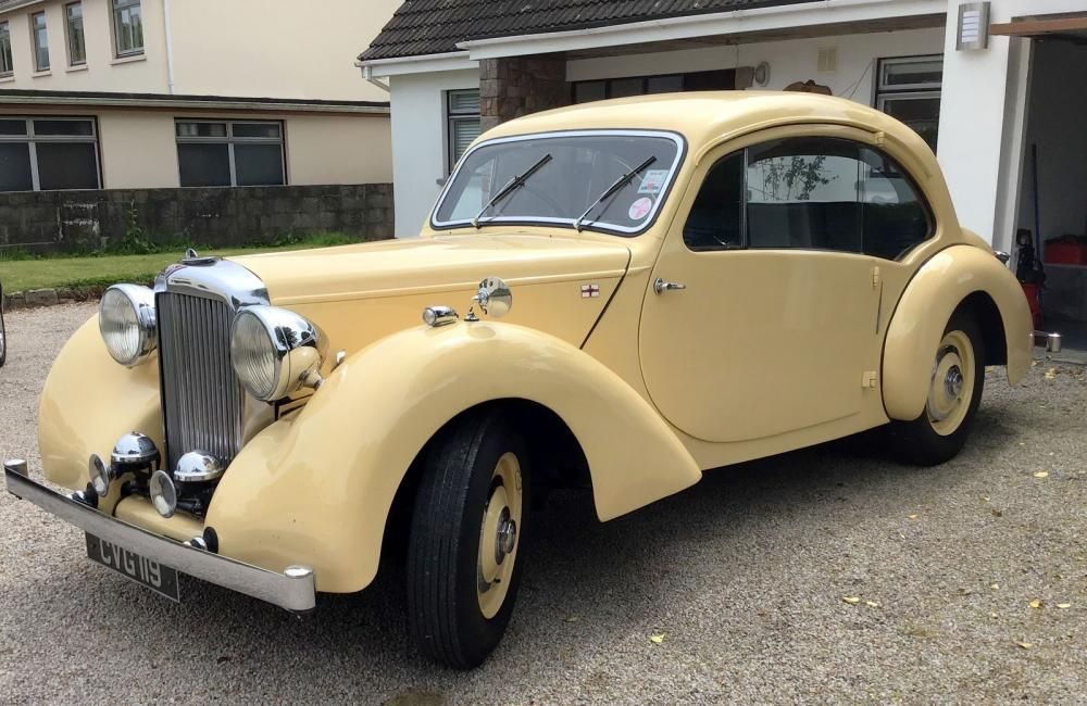 1947 Alvis TA14 Duncan Coupe in the H&H online auction