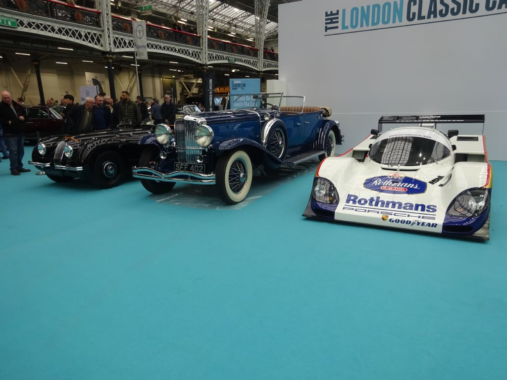 Images from the London Classic Car Show