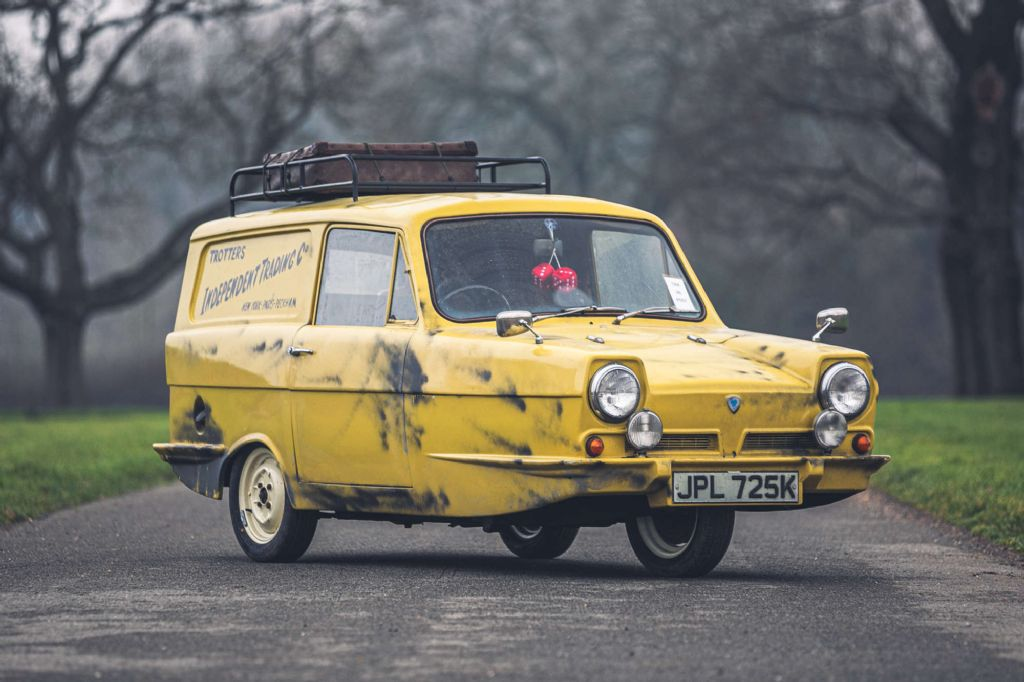 Derek Trotters Reliant Van to be sold at Silverstone Auctions