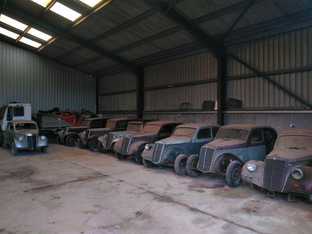 Pre war Lancia Collection on Ebay